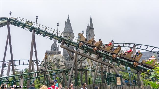 Flight Of The Hippogriff Attractions On Universal
